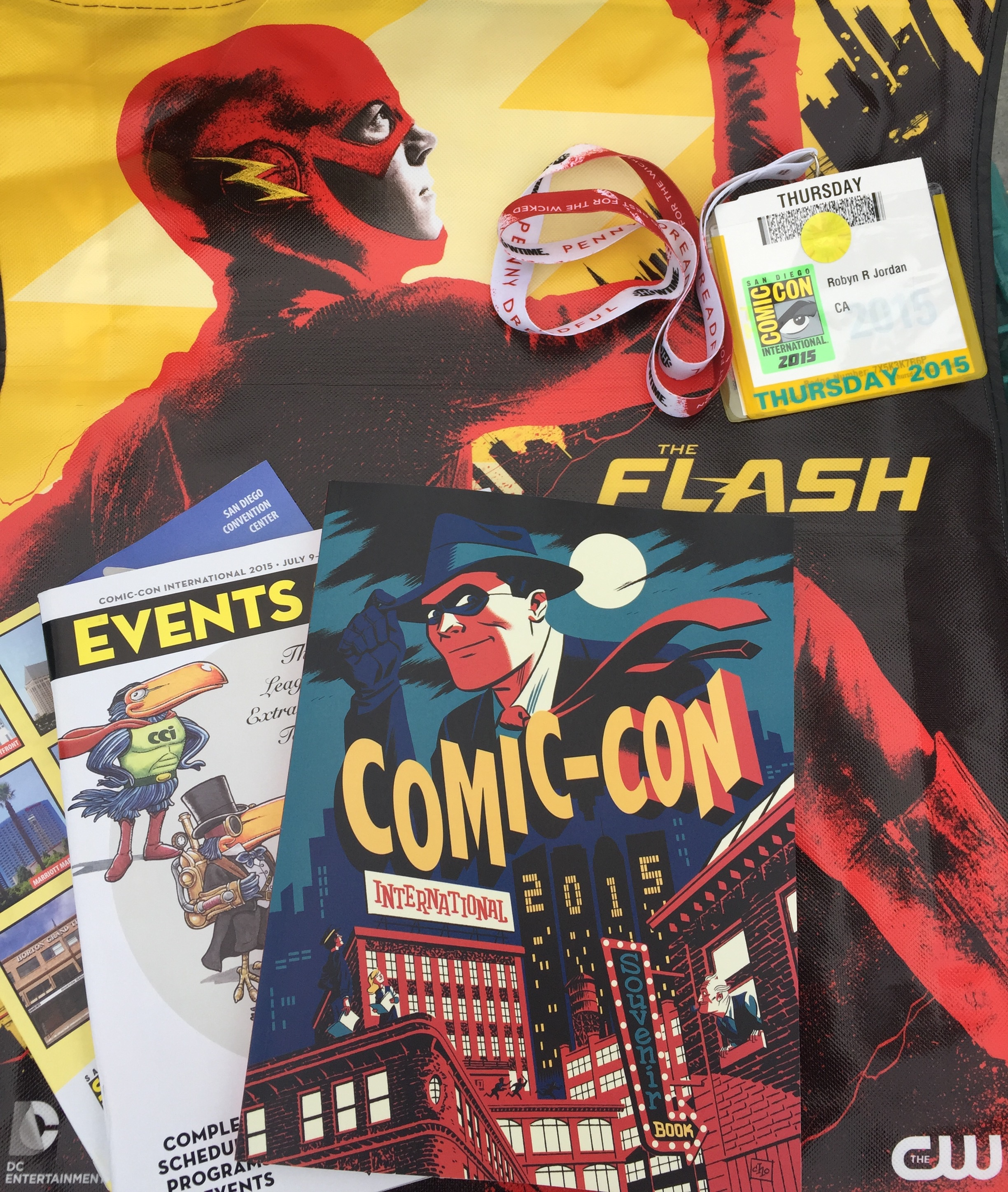 SDCC2015 Recap and Pictures